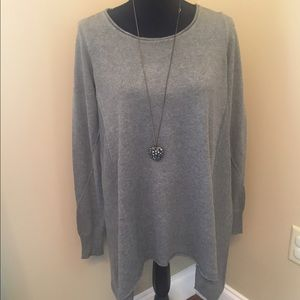 Studio M Sweater Poncho with Sleeves Size S