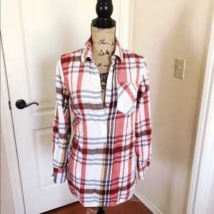 Merona plaid tunic