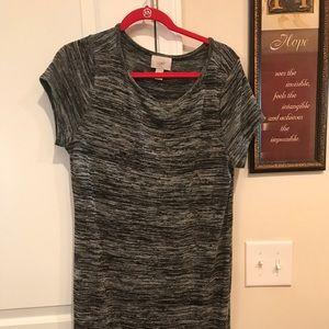 Loft tshirt dress
