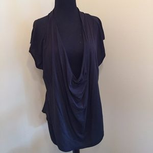 Free People Drape Front Top