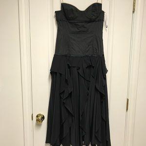 narciso rodriguez black dress