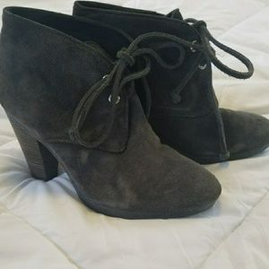 Coach suede ankle boot size 6