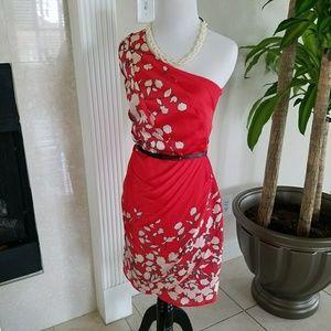 NWT Oasis Red Offshoulder Dress