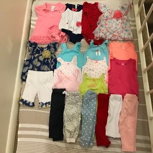 Other - Lot of 19 baby girl clothes