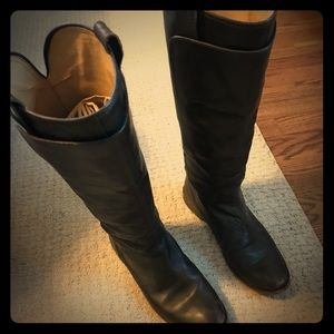 Frye brown tall boots size 7.5