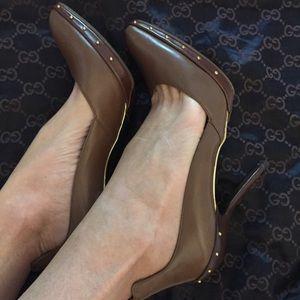 Authentic Gucci Platform Pump Heel