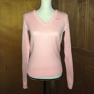 Adorable Abercrombie & Fitch Pink Sweater Size XS