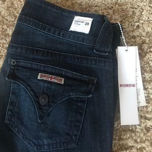 Hudson Signature Bootcut Jeans. Size 28.