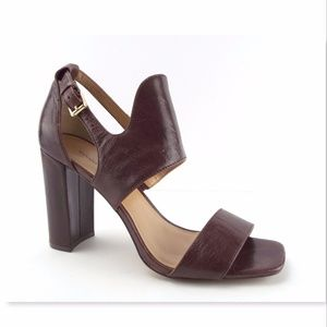 BANANA REPUBLIC Brown Halter Strap Heel Sandal