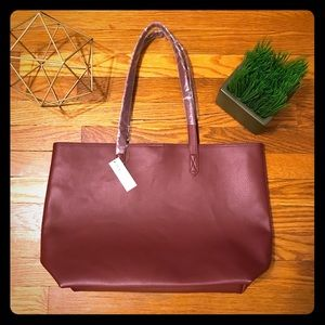 Old Navy Faux Leather Tote