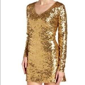 Excellent midnight dress by Michael Kors, size XS