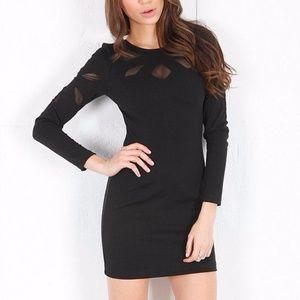 Keepsake 'Love Out of Lust' Long Sleeve Minidress