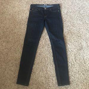Hudson Jeans dark wash skinny jean
