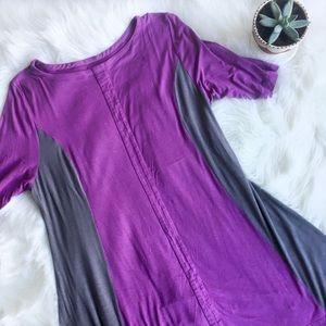 Soft Surroundings Color Block Jersey Tunic, XL