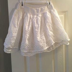 Gilly Hicks White Skirt- S