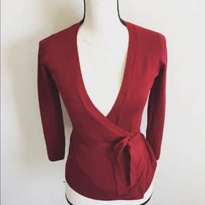 Wine Red Zara Cardigan Small