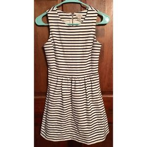 J.Crew Striped Dress with Pockets