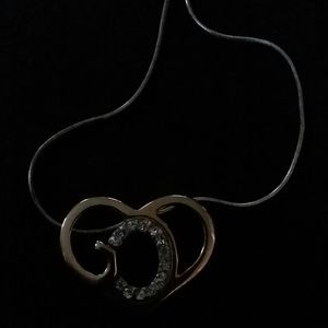 Two tone God's Heart necklace