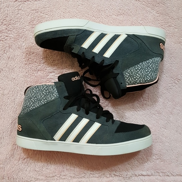 Adidas NEO Hoops Vulc Mid Top Trainers Sneakers