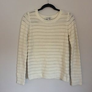 Forever 21 • white knit sweater