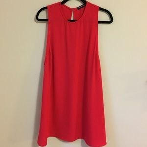 American Apparel Red Shift Dress