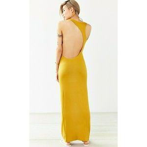 NWOT Urban Outfitters OFU Modern Cutout Maxi Dress