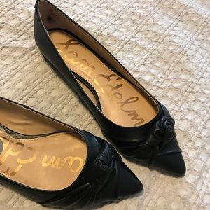 NEW Sam Edelman Genuine Leather Pointed Flats 7