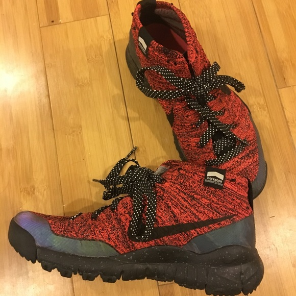 another chance online retailer most popular [ NIKE ] defender series flyknit chukka