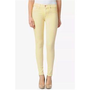 Hudson Mid Rise Super Stretch Skinny Leg Jeans 27