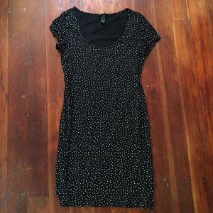 Stretchy cotton dress