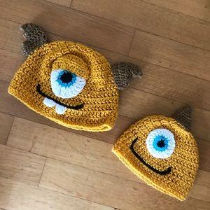 Handmade Monsters Terri & Terry Perry beanies