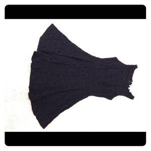 Black dress size 2