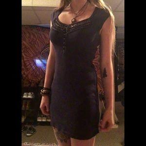 Urban outfitters dark purple dress size small