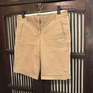 J Crew chino stretch Bermuda shorts