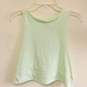 Neon Lime Green Muscle Tees