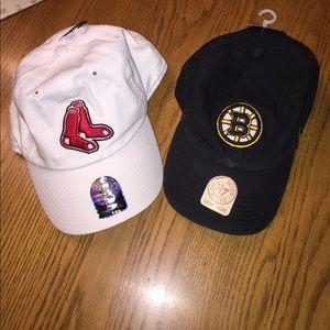 BOSTON sports hat bundle