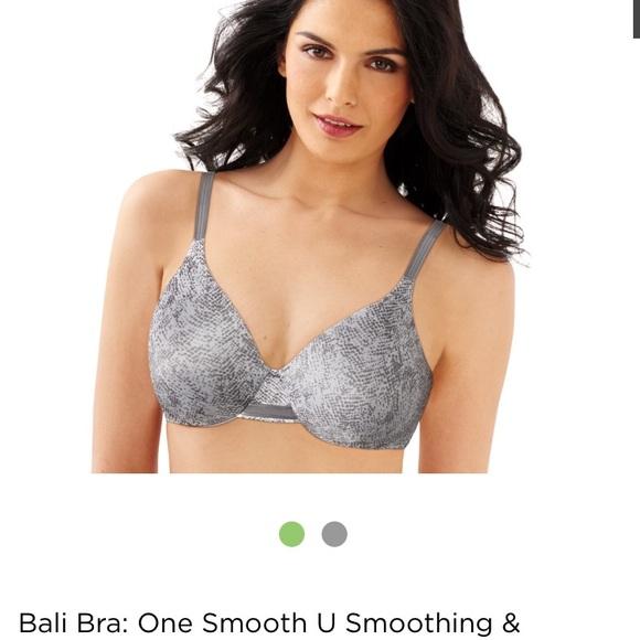 23fb519b3b Bali Other - BALI Slate Gray Full Figure Support Bra 36DD E