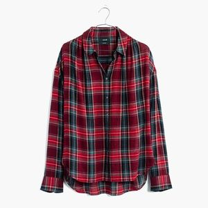 Madewell Oversized Boyfriend Shirt