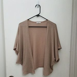 Teenbell Beige Shrug/Cardigan