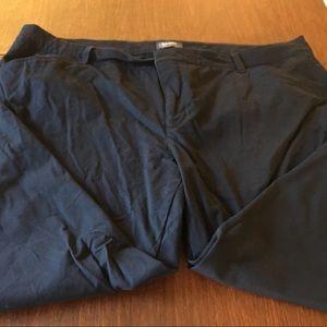 EUC Old Navy Plus Size Navy Pixie Pants