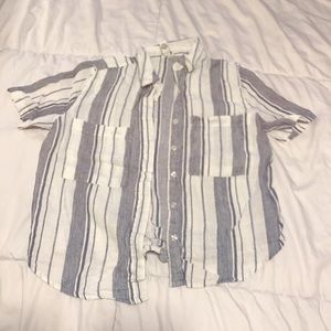 Loose fitted button up