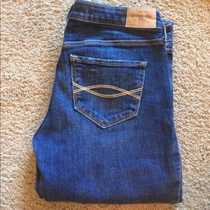 "A&F ""The A&F Boot"" Jeans"