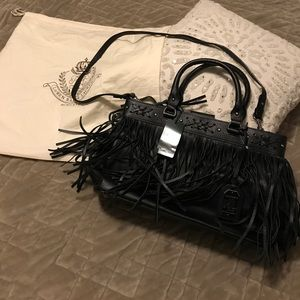 4482fcc824 Ralph Lauren Bags - Ralph Lauren Barton Emery fringe purse