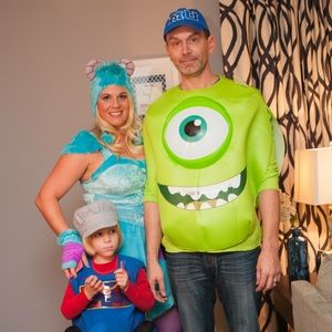 Mike and Sexy Sulley Couple Halloween Costume