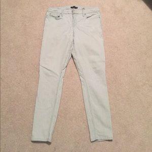 Railroad stripe five-pocket pants, 2016