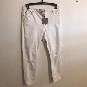 Asos White denim jeans