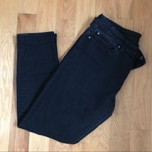 GAP Black Always Skinny Stretch Jeans