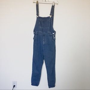 Hipster Overall Oversized Mom Jeans