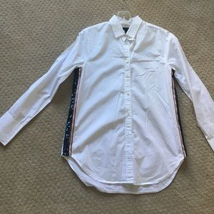 J crew button down with sequins