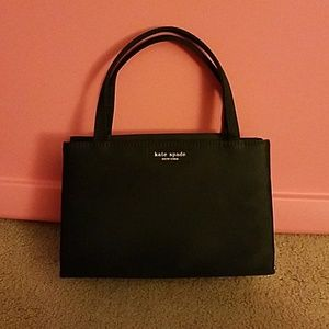 Kate Spade black nylon evening bag